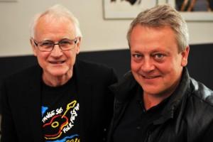 Johannes V. Hansen og René Birch Pressefoto