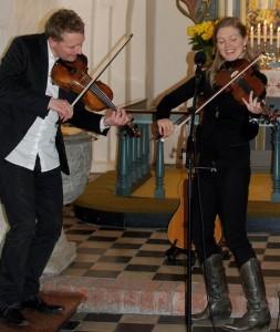 Harald Haugaard og Helene Blum