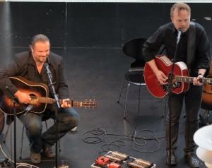 Perry Stenbäck og Søren Krogh