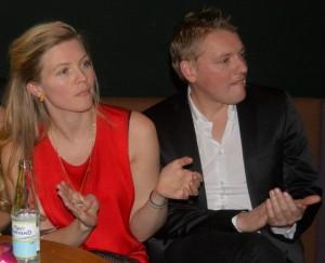 Helene Blum og Harald Haugaard (ses her ved årets DMA folk)