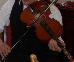 En violinist kan forbruge 175 kalorier på en time!