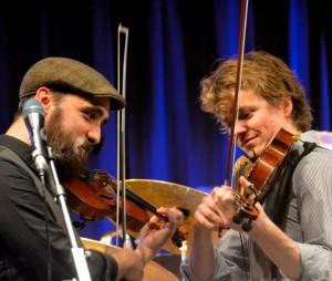 Hal Parfitt-Murray og Andreas Tophøj