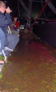 I 2011 skulle man ikke være bange for vand på fotopladserne! Fotos: Per Dyrholm