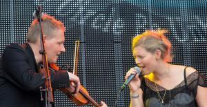 Harald Haugaard og Helene Blum.