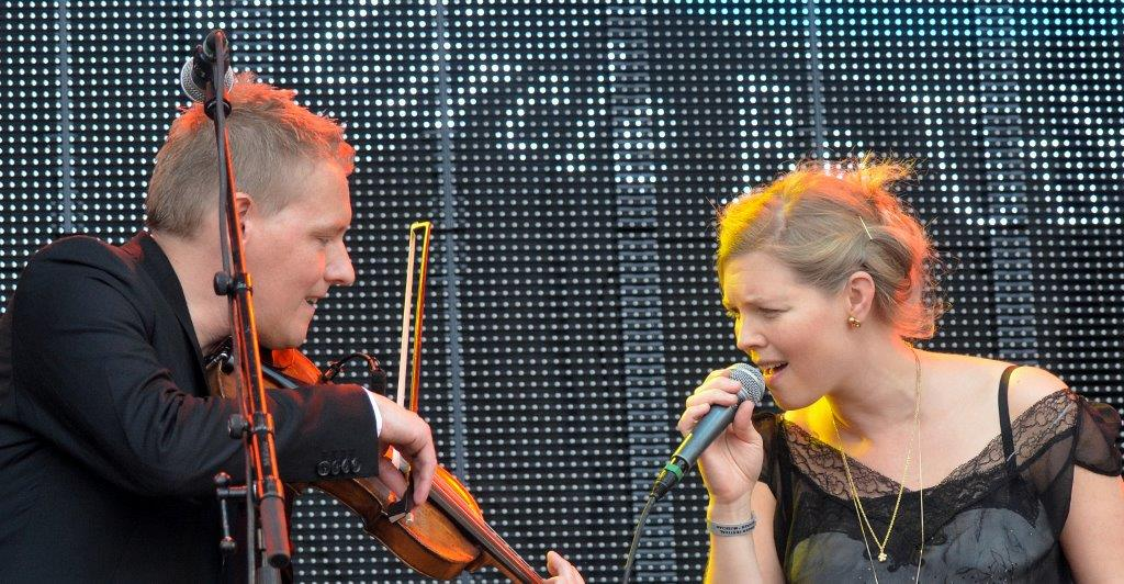 Danske bands til festivals på skotske øer