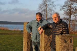 Mikael Kristensen (t.v.) og Johannes V. Hansen Pressefoto
