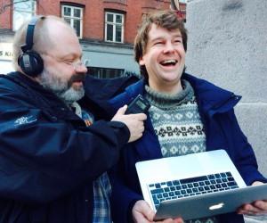 Morten Alfred Høirup og Kristian Bugge