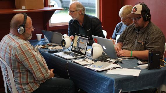 Radiofolk på Tønder Festival