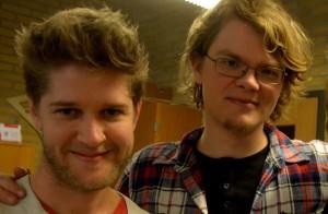 Nikolaj Busk og Ale Carr. Fotos: Per Dyrholm