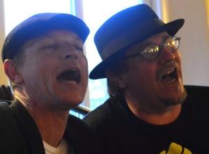 Tom Bille og Esben Langkniv Foto: Per Dyrholm