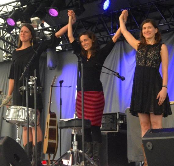 The Wailin jennys var et populært bekendtskab ved årets Tønder festival.