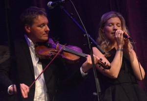 Harald Haugaard og Helene Blum. Foto: Per Dyrholm