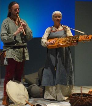 Hans Christian Molbech og Molly Granhøj