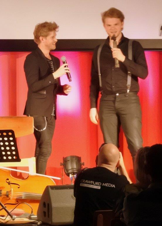 Nikolaj Busk og Ale Carr fra Dreamers' Circus Foto: Claus Hellgren Larsen