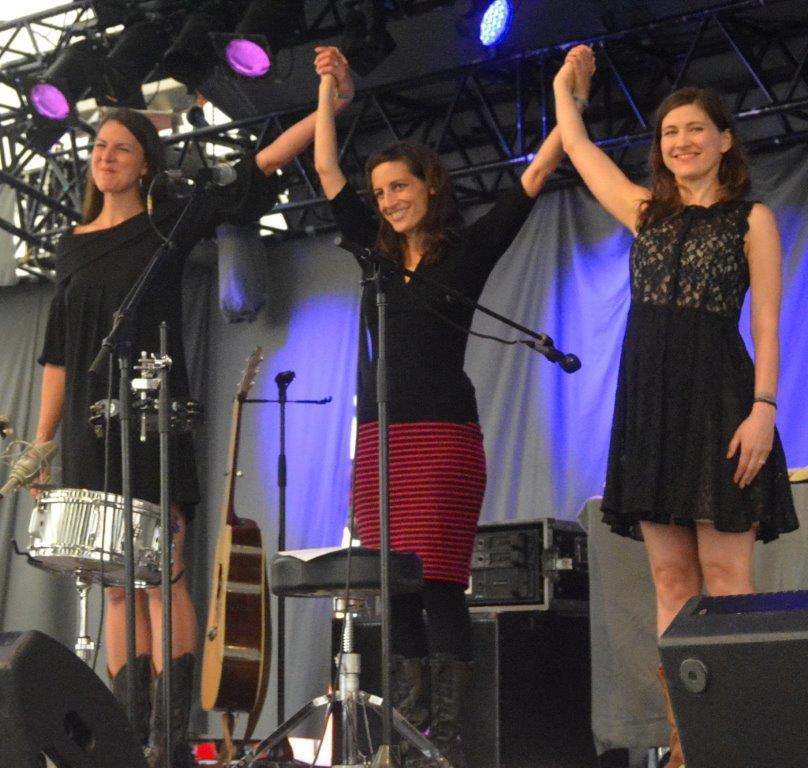 The Wailin Jennys var populære ved årets Tønder Festival. Fotos: Per Dyrholm