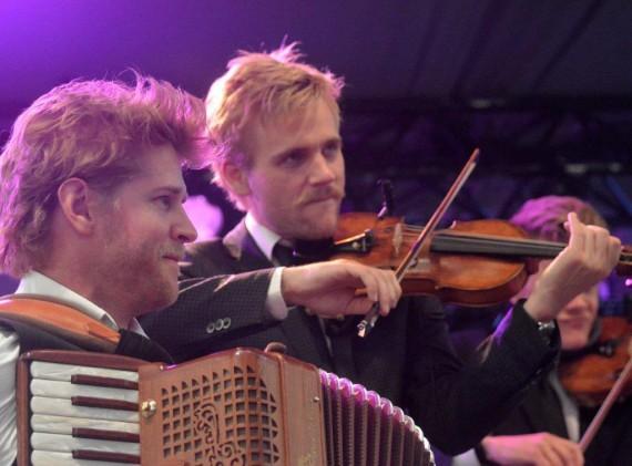 Nikolaj Busk og Rune Tonsgaard Sørensen fra Dreamers' Circus