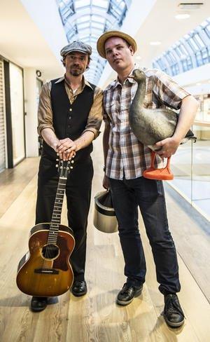 Tim Lothar og Peter Nande. Pressefoto