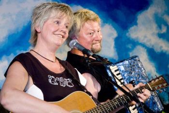 Bente Kure og Leif Erntsen Pressefoto