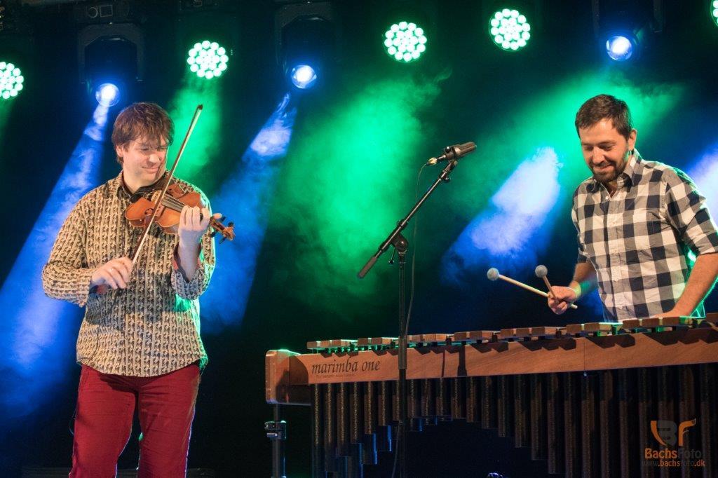 Bugge & Wenzell afsluttede festivalen søndag. Foto: Bo Bach Jensen