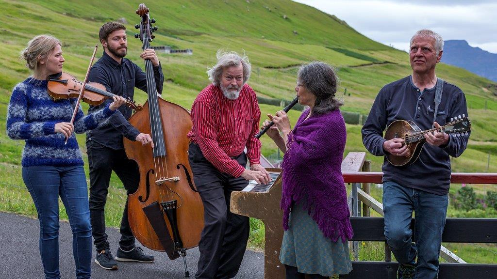 Visit fra Færøerne i det midtjyske