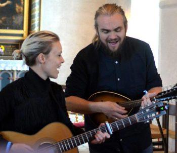 Louise Støjberg og Martin Rauff