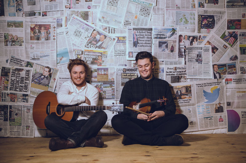 "CD: Greg Russell & Ciaran Algar: ""Utopia And Wasteland"""