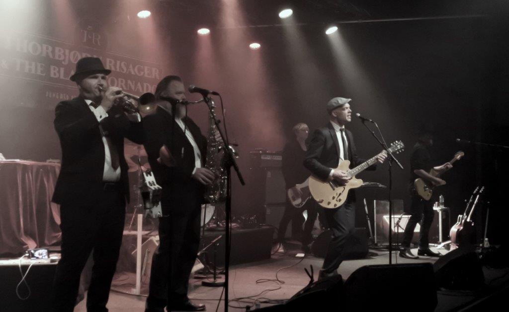 Live:Thorbjørn Risager & The Black Tornadoes: Stars, Vordingborg