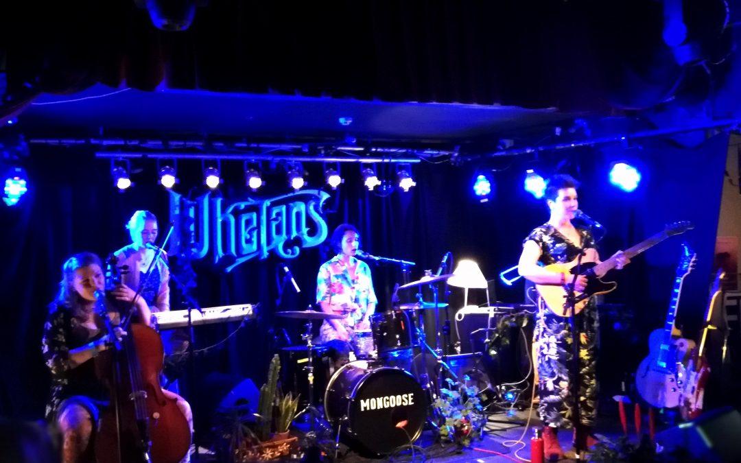 Live: Mongoose: Whelan's, Dublin