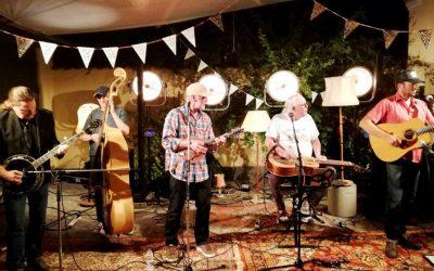 Live: Dansk Amerikansk Musikklub og Cross Island Porch Band