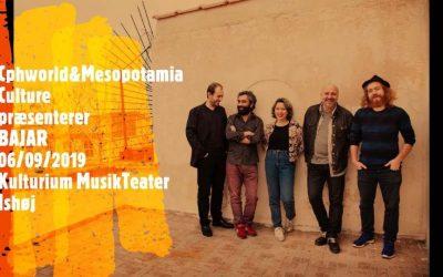 Live: Bajar: Ishøj Kulturium 6. september