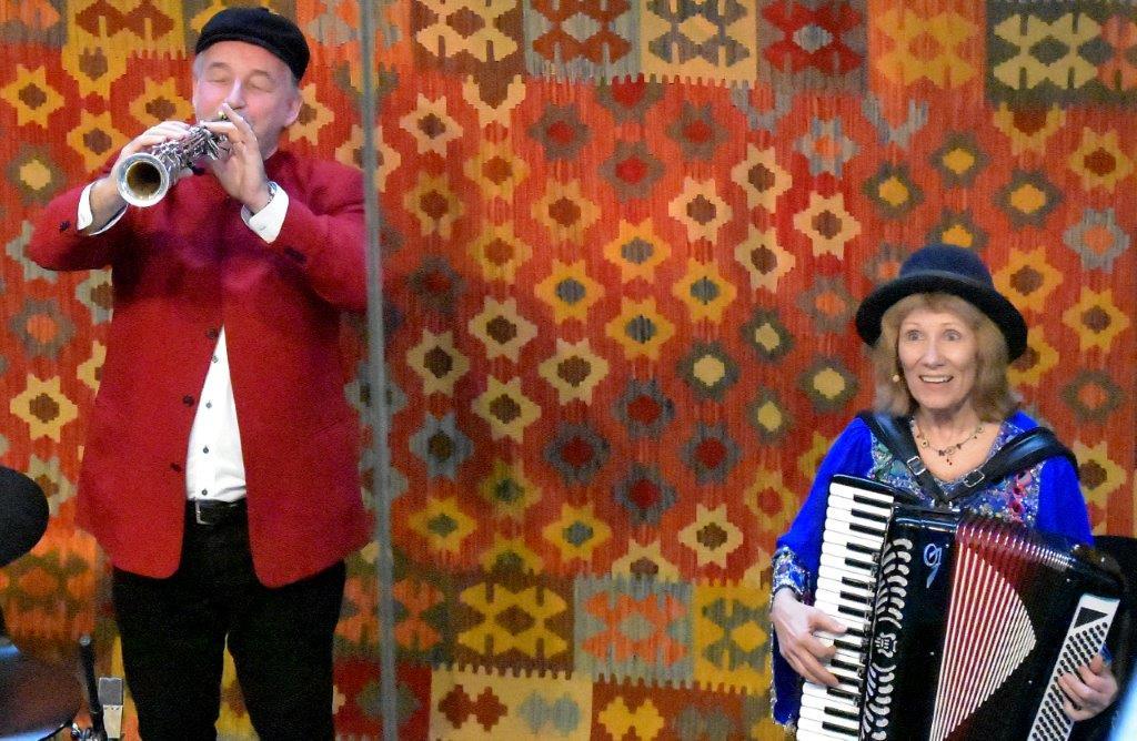 Live: Klezmer Duo: Aarhus Musikhus