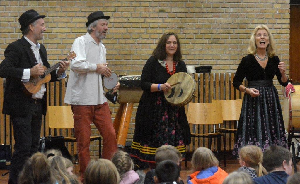Masser af musik i skolerne