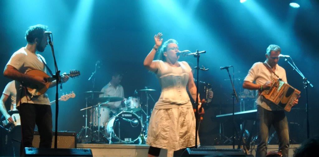 Live: Tønder Festival: Eliza Carthy & The Wayward Band
