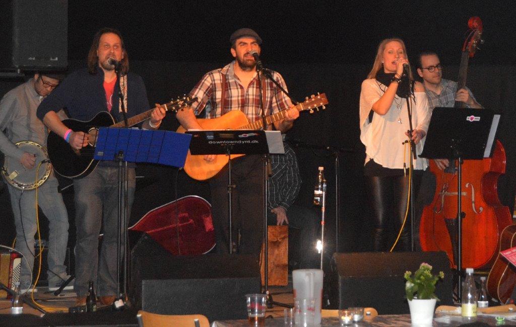 Brian O'Driscoll med sit band Heartlands