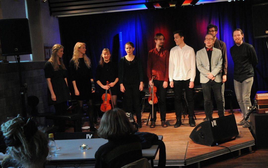 Live: FolkeKons: Café Ørsted, Musikkonservatoriet, Esbjerg