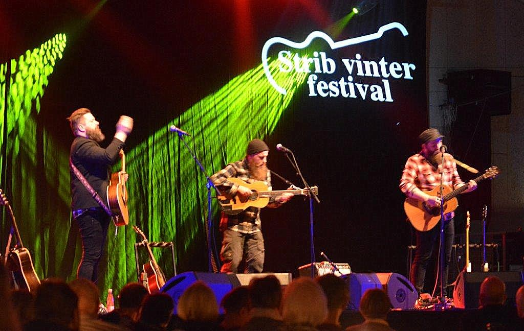 Live: Strib Vinterfestival: The Outside Track, Kris Drever og The White Album