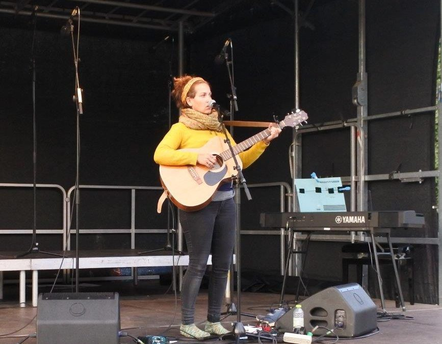 Live: Gurli Octavia: Byparken, Roskilde