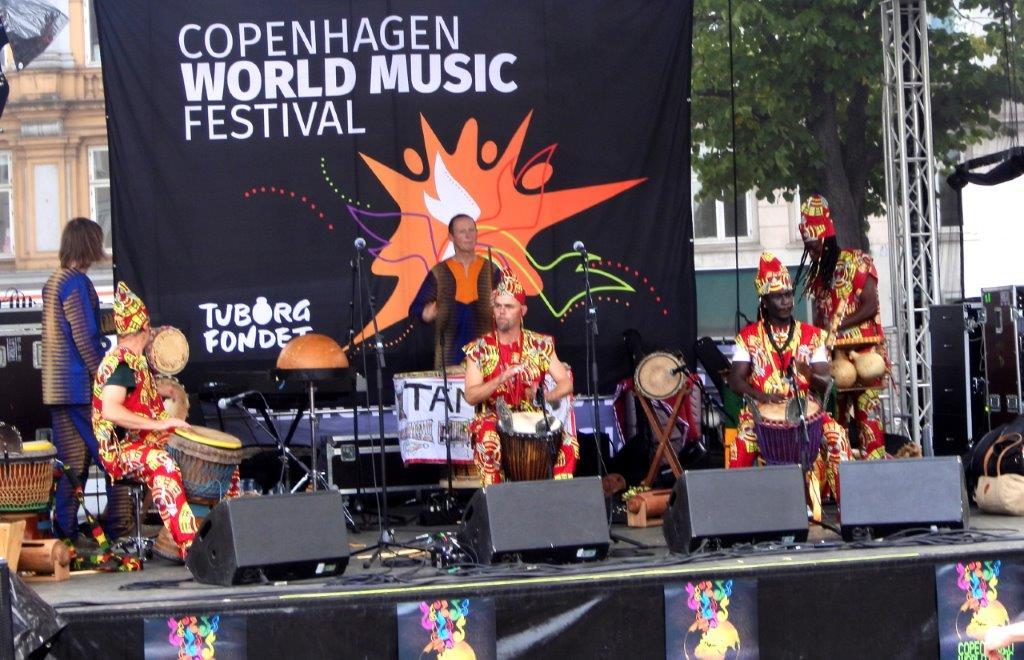 Live: CPH World Music Festival: Skt. Hans Torv