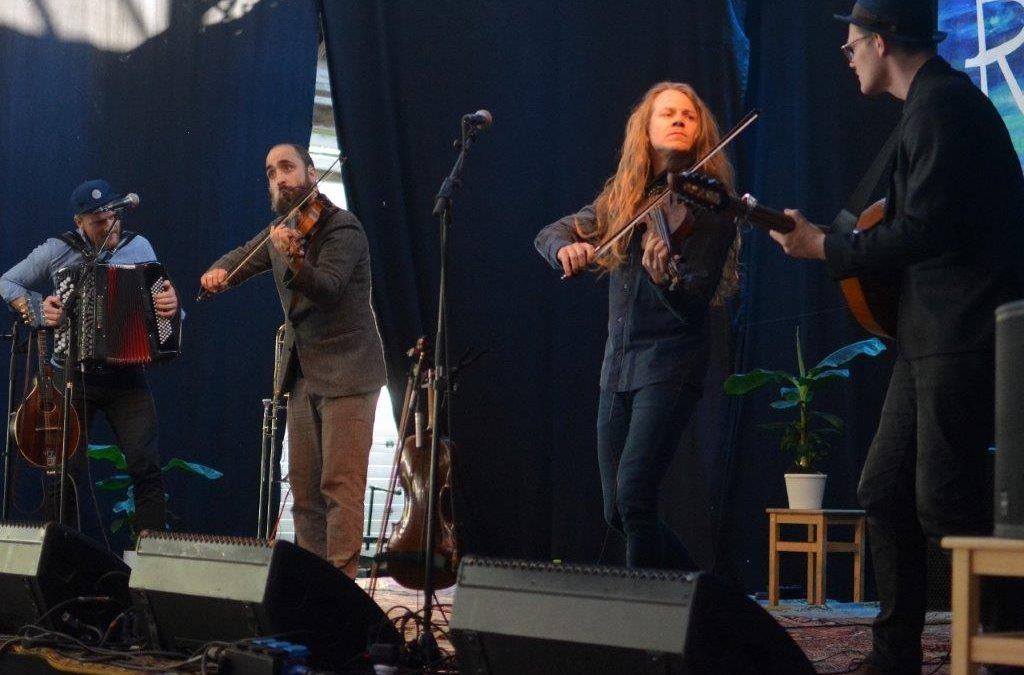 Godt at høre livemusik igen – og den blev spillet perfekt