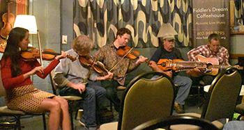 Live: Kristian Bugge: Fiddlers Dream Coffeehouse, Phoenix, USA